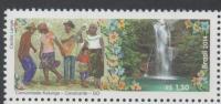 BRAZIL, 2014,MNH, WATERFALLS, KALUNGA COMMUNITY, GUITAR, 1v - Geography