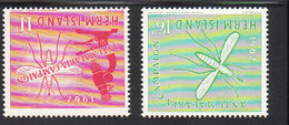 HERM ISLAND 1962 CAMPAGNA ANTIMALARIA  - INTEGRI - Guernsey