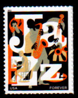 USA, 2011, Scott #4503, Jazz, Forever Single, MNH, VF - Unused Stamps
