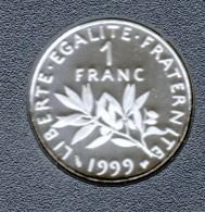 1999, 1 FRANC  BELLE EPREUVE ( ISSUE DU COFFRET BE) - France