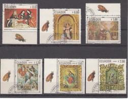 Ecuador 1968 Mi Nr 1403 - 1408 Schilderijen, Painting - Ecuador