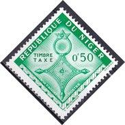 Niger, 1962 - 50c Cross Of Agadez - Nr.J22 MNH** - Niger (1960-...)