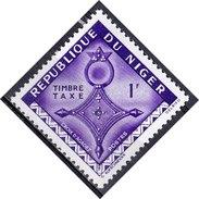 Niger, 1962 - 1f Cross Of Agadez - Nr.J23 MNH** - Niger (1960-...)