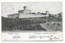 VINCIGLIATA FIRENZE CASTELLO 1903 VIAGGIATA FP - Firenze