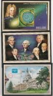 BELIZE Année 1996 Blocs  N° 68-69-71** - Belize (1973-...)
