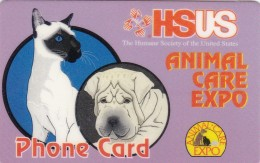 United States, PRE-US-0955, HSUS - Animal Care Expo, Cat And Dog, 2 Scans. - Sonstige