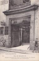 PARIS D´ AUTREFOIS N° 72  4° Rue Du RENARD THEATRE De La CONCORDE Sous La REVOLUTION Fournitures Pour COIFFEURS - Arrondissement: 04