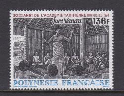 French Polynesia SG 702 1994 20th Anniversary Of Tahiti Academy MNH - French Polynesia