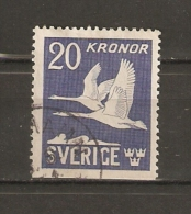 SUECIA. AÉREO. 1942-53 YVERT Nº 7a