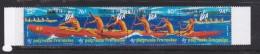 French Polynesia SG 708-711 1996 Canoe Racing MNH - French Polynesia
