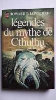 Légendes Du Mythe De Cthulhu Howard P. Lovecraft 1981 (200g) - Fantastique