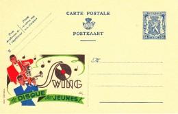 20533 - Entier Postal - Carte Publibel N° 533 - Disque Swing - Voir Photo Pour Détails - Enteros Postales