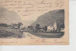 Inden  (Wallis)     Um 1904  (abgestempelt In LA CROIX - Martigny Combe  Und  Saxon) - VS Valais