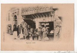 ÉGYPTE . ÉPICERIE ARABE . ÉDITION J. BARBIER, LE CAIRE - Réf. N°15901 - - Egypte