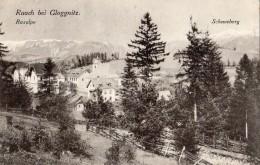 RAACH BEI GLOGGNITZ RAXALPE SCHNEEBERG - Neunkirchen