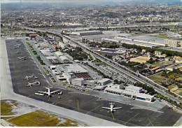 AEROPORT Aerodrome Airport 06 - NICE Côte D'Azur : Vue Aérienne De L'Aéroport - CPSM GF 1969 - Flughafen Luchthaven - Aerodrome