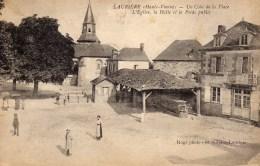 DPT 87 LAURIERE Un Coin De La Place - Lauriere