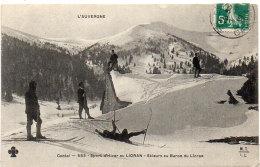 LE LIORAN -  Skieurs Au Buron Du Lioran - Chute    (88433) - Frankrijk