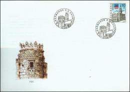 Slovakia 2002, FDC Cover Kezmarok Old Town Mi.# 423, Ref.bbzg - FDC