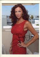 Sofia MILOS - Les Experts Miami - Autographes