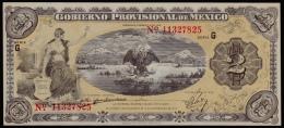 Mexico Gobierno 2 Pesos 1914-1915 AUNC - Mexico