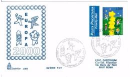 VATICANO FDC CAPITOLIUM -  EUROPA 2000 - ANNO 2000 - FDC