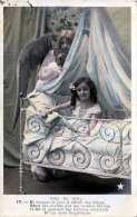 ANGE DE NOEL - Kleines Mädchen Engel, Karte Gel.191? - Kinder