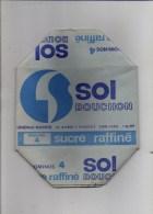 """Publicité - Rare ! Emballage En Carton Complet De Sucre Morceaux 1 KG """" SOL  Bouchon"""" Générale Sucrière Voir Exemple ! - Werbung"""