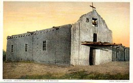 Indian Church At Jemez, New Mexico ( Etats Unis ) - Etats-Unis