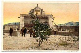 The Church At Santo Domingo , New Mexico ( Etats Unis ) - Etats-Unis