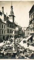 CPA SUISSE LAUSANNE MARCHE DE LA PALUD ET HOTEL DE VILLE - VD Vaud