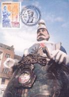 Carte-Maximum FRANCE N°Yvert 3164 (DUNKERQUE - LE REUZE) Obl Sp Ill Congrès - 1990-99