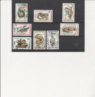 CONGO - SERIE N° 289 A 296 OBLITERE -- ANNEE 1971 - Gebraucht