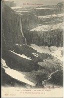 GAVARNIE , Le Fond Du Cirque Et La Grande Cascade De 422 M , 1906 , Cliché: A. Trantoul - Gavarnie