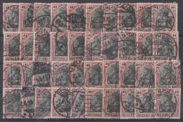 DR Lot 40 Marken Minr.90I Und II Gestempelt Farben Ansehen !!!!!!!!!!! - Briefmarken