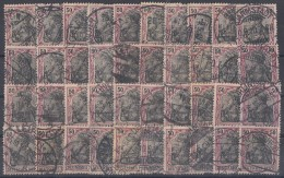 DR Lot 40 Marken Minr.91I Und II Gestempelt Farben Ansehen !!!!!!!!!!! - Briefmarken
