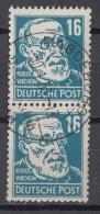 DDR Minr.332 Gestempelt Senkrechtes Paar - Gebraucht