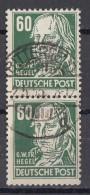 DDR Minr.338 Gestempelt Senkrechtes Paar - Gebraucht