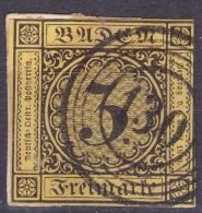 LOTE 732  ///  (C250) ALEMANIA BADEN 1851   MICHEL Nº: 2A    //  CATALOG./COTE:  45€ - Baden