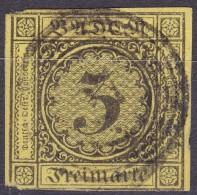 LOTE 732  ///  (C220)  ALEMANIA BADEN 1852    MICHEL Nº: 2b    //  CATALOG./COTE:  20€ - Baden