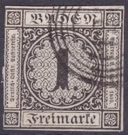LOTE 732  ///  (C110)  ALEMANIA BADEN 1853    MICHEL Nº: 5    //  CATALOG./COTE: 35€ - Baden