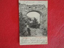 Alassio Arco E Strada Romana 1901 Savona Ed. Alterocca N. 2516 Foto Alinari - Other Cities