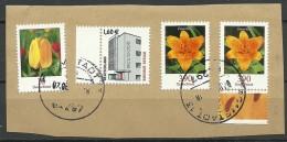 DEUTSCHLAND 2016 Briefstück O Blumen Etc - BRD