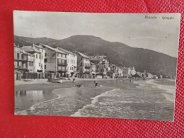 Alassio La Spiaggia  Savona Primi 1900 Ed. Brunner N. 16521 - Altre Città