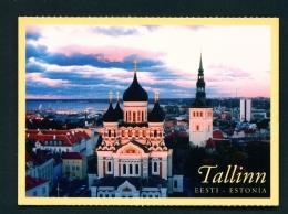 ESTONIA  -  Tallinn  Nevski Cathedral  Unused Postcard - Estonia