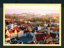 ESTONIA  -  Tallinn  Town Hall Square  Unused Postcard - Estonia