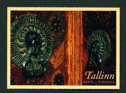 ESTONIA  -  Tallinn  Doors Of The Great Guild Hall  Unused Postcard - Estonia