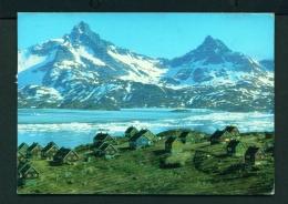 GREENLAND  -  Angmagssalik  Used Postcard - Greenland