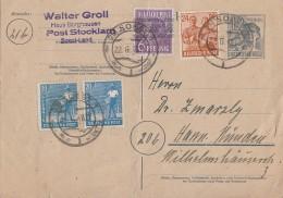 Gemeina. GS Zehnfachfrankatur Soest 22.6.48 - Gemeinschaftsausgaben