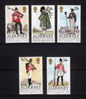 ALDERNEY ANNATA COMPLETA  1985 - Alderney